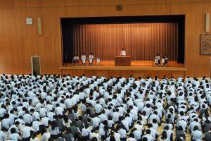 生徒総会2016